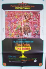 L'affiche de « The Party » : la géniale comédie de Blake Edwards.