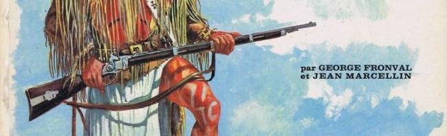 """Couverture pour """"Géronimo - L'Apache indomptable"""" (Nathan 1969) par George Fronval et Jean Marcellin"""