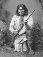 Geronimo par George Ben Wittick (1845 - 1903) en 1887