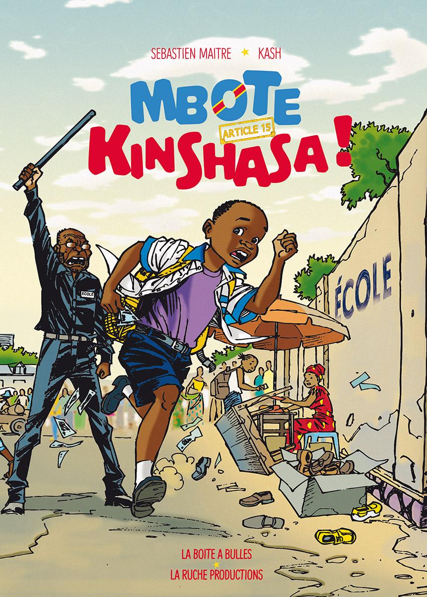 Mbote Kinshasa couverture