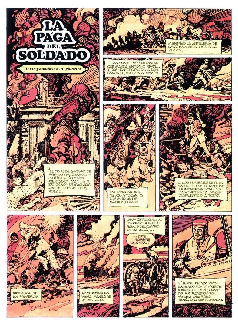 « La Paga del Soldado » dans Trinca.