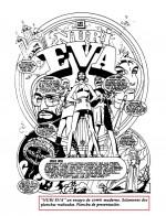 L'une des pages d'essai du projet « Nuri-Eva ».