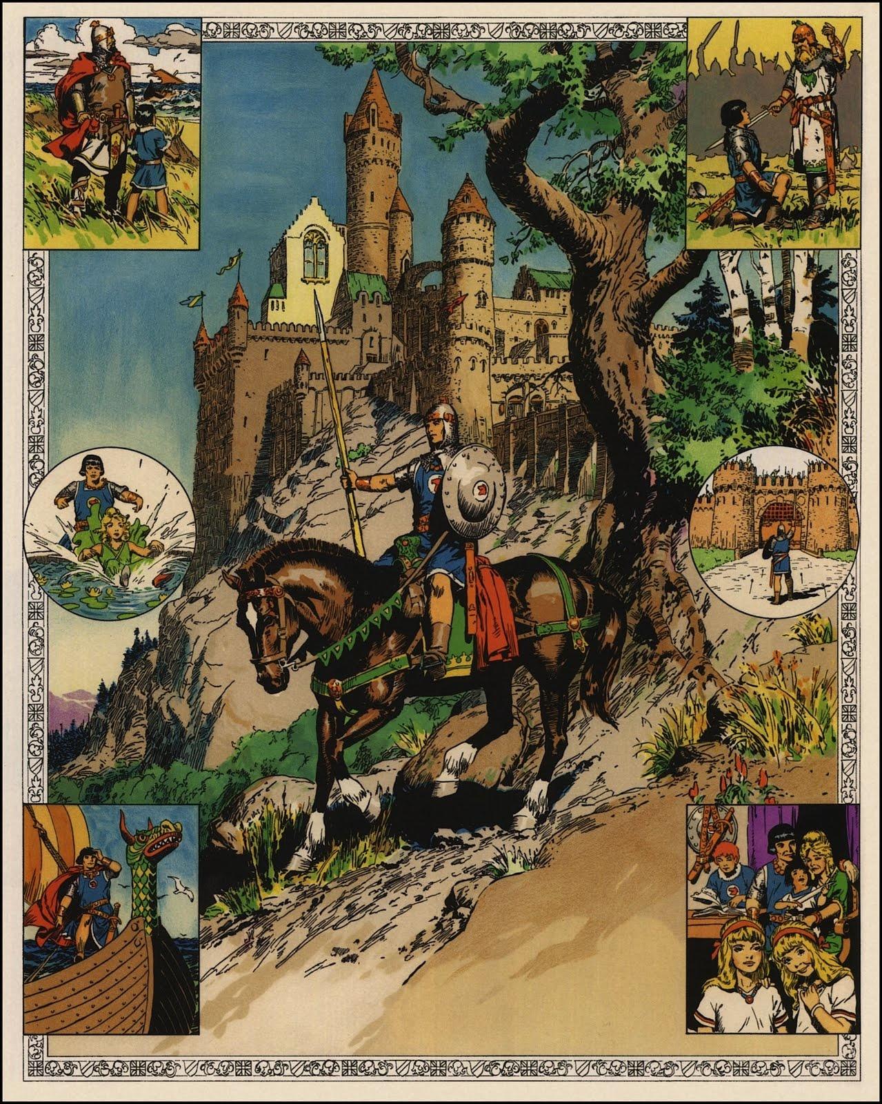 Prince Vaillant, la vision héroïque et hollywoodienne du Moyen Age