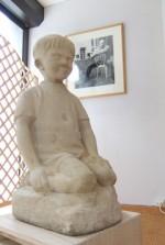 Benoît Gillain sculpté par son père, en 1942.     (c) François Deneyer.