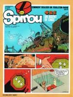 Couverture et premières pages de Spirou n°2177 (3 janvier 1980)