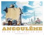 L'affiche du 44ème FIBD d'Angoulême