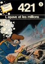 Couverture pour L'Épave et les millions (Dupuis - 1983)
