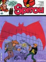"""Couverture de Spirou n°2296 du 15 avril 1982, annonçant """"Bons baisers du 7ème ciel"""""""