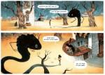 L'épouvantable peur d'Épiphanie Frayeur cases page 15