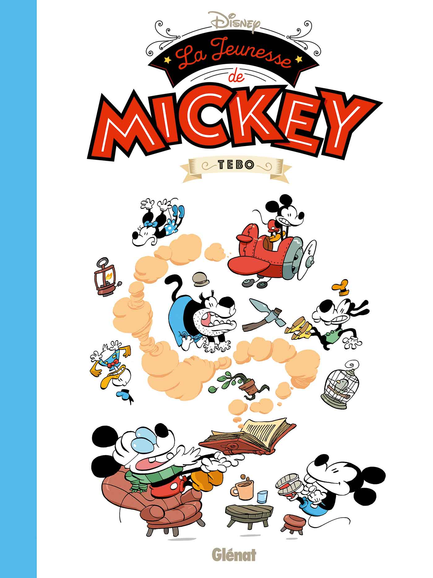La-jeunesse-de-Mickey  couverture