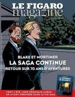 Couverture-annonce pour le  lancement de la prépublication dans le Figaro Magazine du 8 juillet 2016