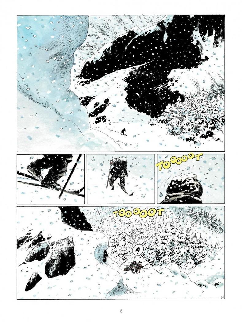 Extrait de Thorgal T15 : Le Maître des montagnes (planche 1 - Le Lombard 1989)