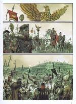 Le souci du détail : planche 1 pour Les Aigles de Rome T1 (2007)