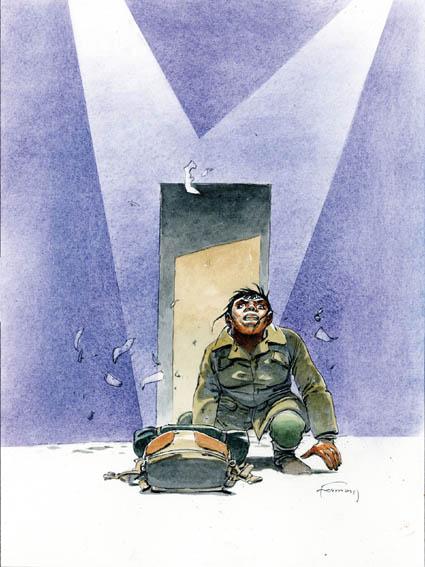 Visuel de l'ex-libris pour le tirage de tête (Dupuis)