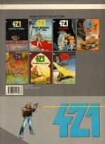 """4ème de couverture pour """"Falco""""  (T7 - 1989) avant la modification du visuel"""
