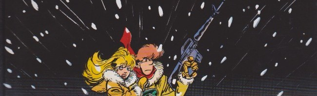 """Couverture pour """"Guerre froide"""" et 1ère planche (Dupuis - 1984)"""