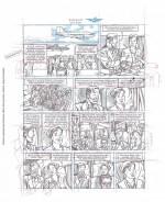 Planche crayonnée indédite d'Antoine aubin pour 8 heures à Berlin (titre provisoire) - Dargaud, Fromental et Bocquet 2017
