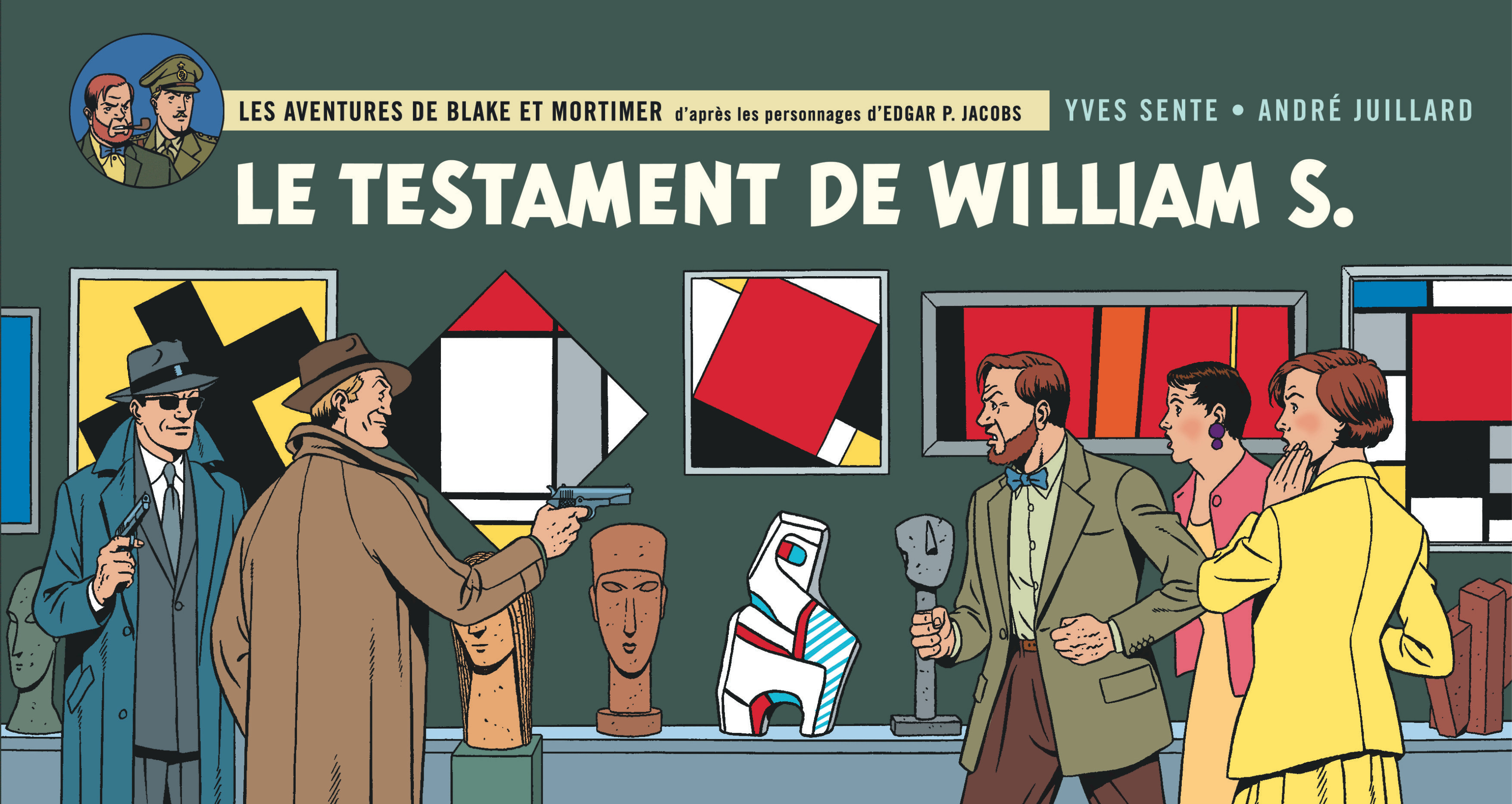 Couverture pour la versions strips (Blake et Mortimer - 2016)