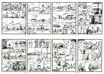 Découpage des pages 1 à 8 par Yves H.
