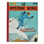 Lefranc T3 : Le Mystère Borg (Jacques Martin ; Casterman - 1965)