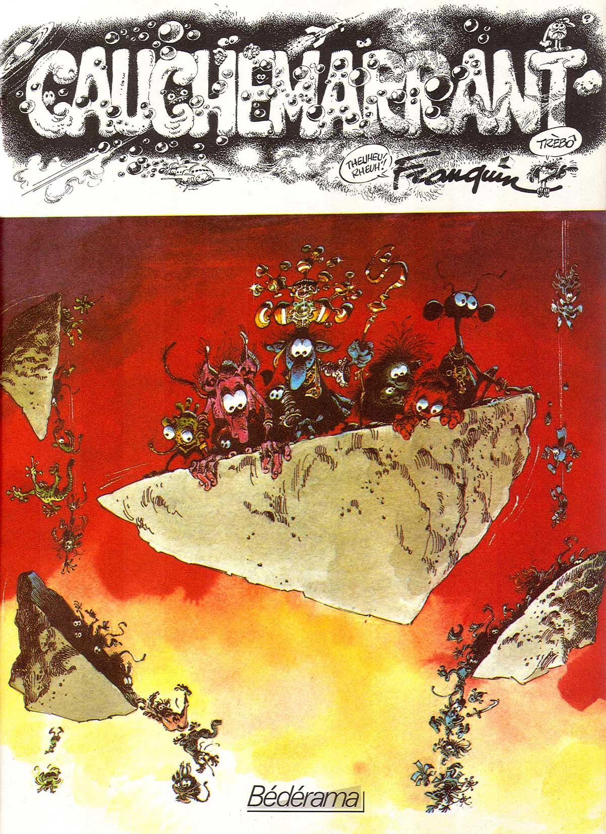 Couverture pour Cauchemarrant (Bédérama - 1979)