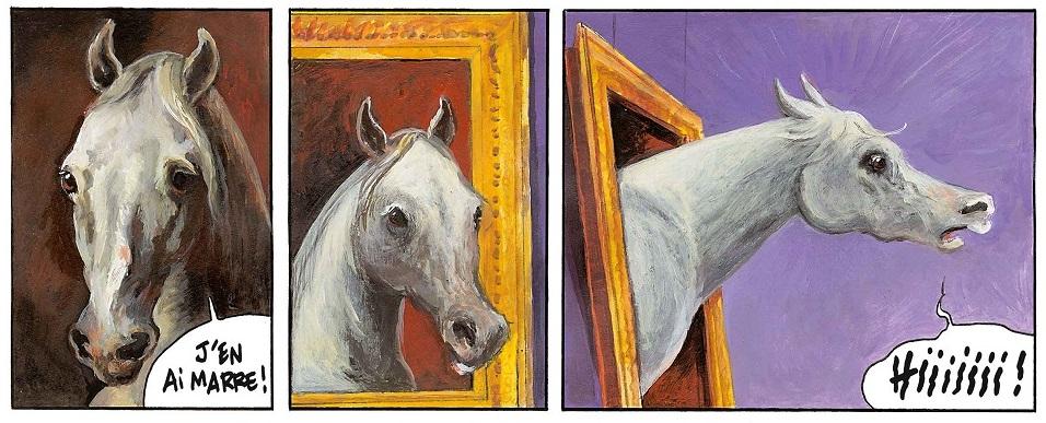 Le cheval qui ne voulait plus être une œuvre d'art bandeau 2 page 5