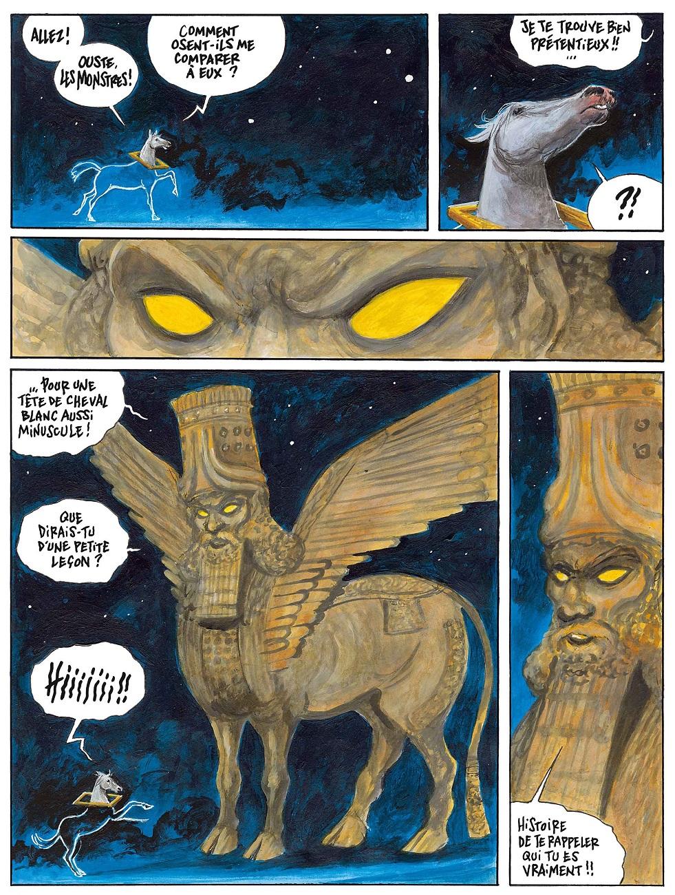 Le cheval qui ne voulait plus être une œuvre d'art page 26