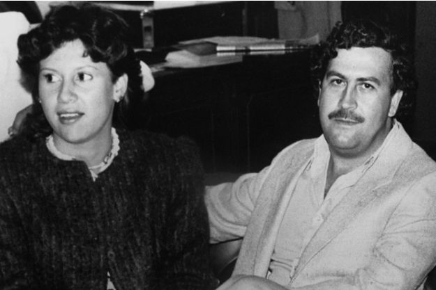 Pablo Escobar et sa femme Victoria Henao en 1983 (Photo Reuters)