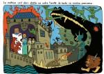 Le combat du père de Perceval contre le Malin