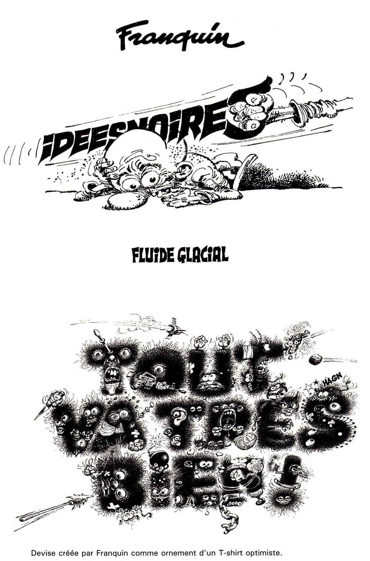 2b8bbf3103d Deux dessins publicitaires autour du concept des Idées noires