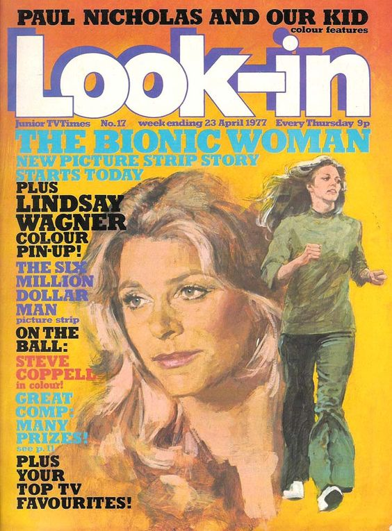 bionic woman look-in