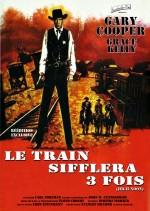 Affiche pour Le Train sifflera trois fois (High Noon) de Fred Zinnemann en 1952