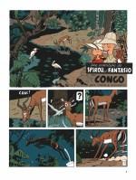 Planche 1 : Into Africa, côté jungle (Dupuis 2017)