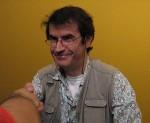 Roberto Baldazzini au Comicon 2007 de Naples.