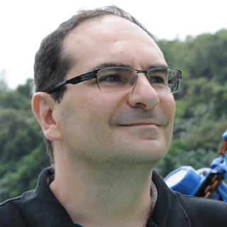 Christophe Arleston (phto du site http://www.lanfeustofficiel.com).