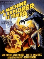 Affiche du film de 1960 et incarnation du héros (Rod Taylor et Guy Pearce)