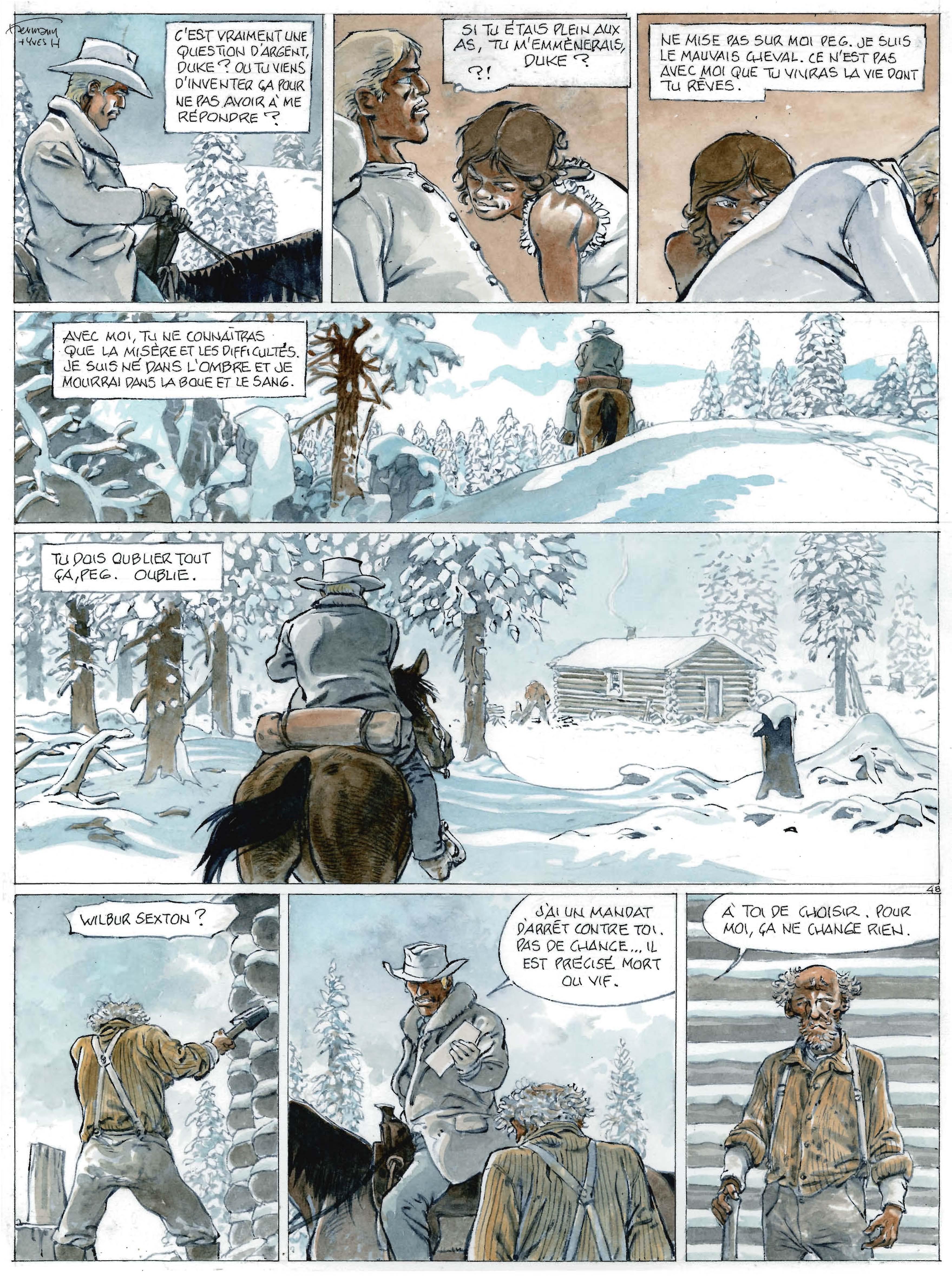 De sang froid ? Planche 48 (Dupuis 2017)