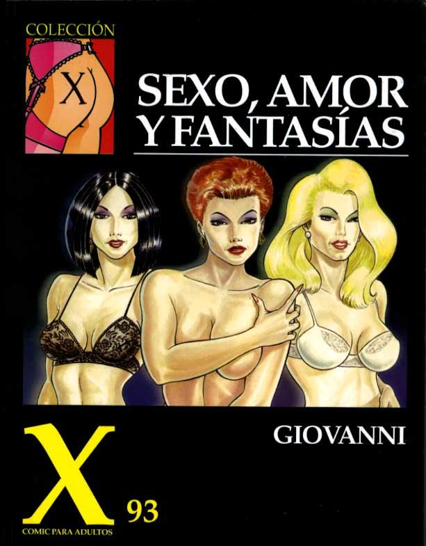 couv Sexo, amor y fantasias