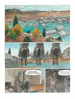 Le massacre comme élément déclencheur : planches 3 et 6 (Dupuis 2017)