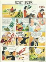 Page d'un certain Bernar, publiée également dans les dernier numéro de Plop.