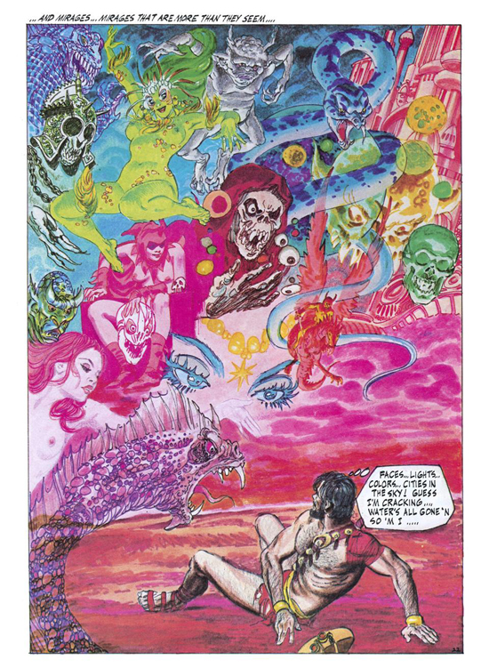 Gray Morrow (« Orion », Heavy Metal 1978).