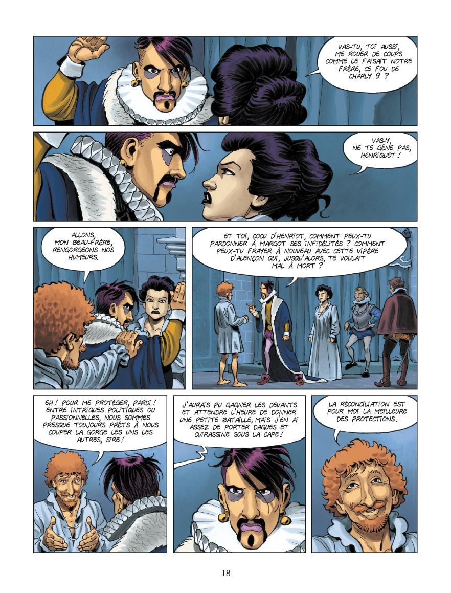 Henri III, Marguerite de Valois et Henri de Navarre : ambiances ! (page 18)
