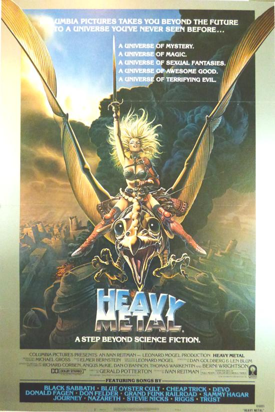 Affiche du film « Heavy Metal » (1981).