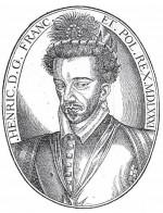 Portrait anonyme d'Henri III, 1581. Bois, 13,5 x 10,5 cm, in Les Œuvres de Pierre de Ronsard, revues, corrigées et augmentées par l'autheur, Paris, G. Buon
