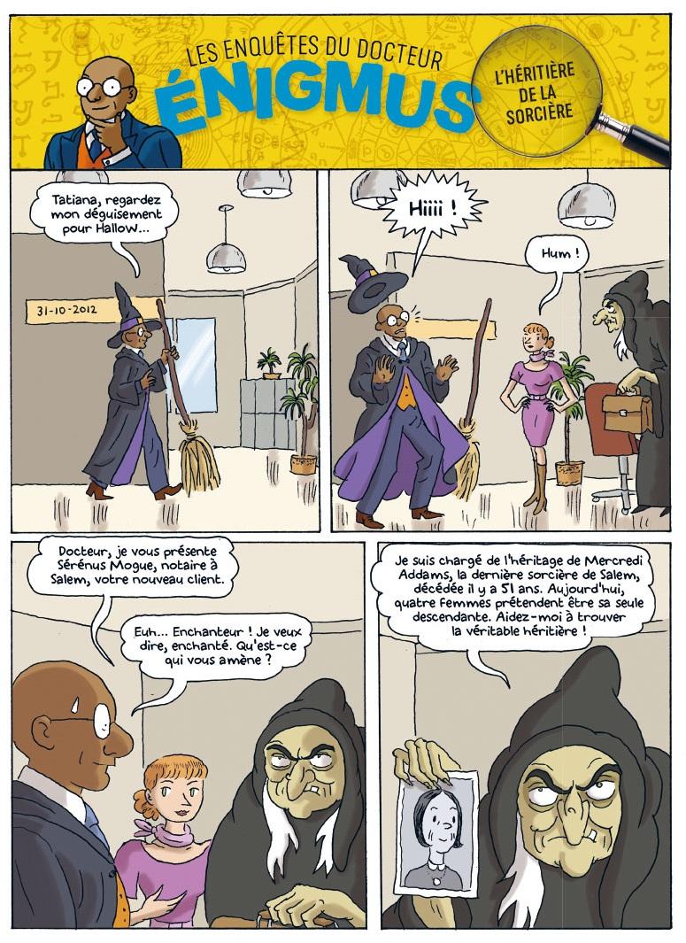 Enigmus T3, l'héritière de la sorcière 1