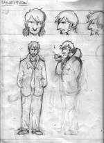 Le tout premier dessin représentant Layne.