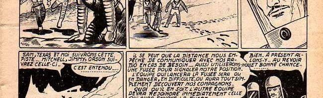 « La Planète du silence », dans le n° 3 de Météor, en juillet 1953.
