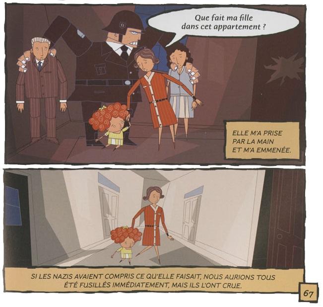 Rescapés de la Shaoh page 67 bas