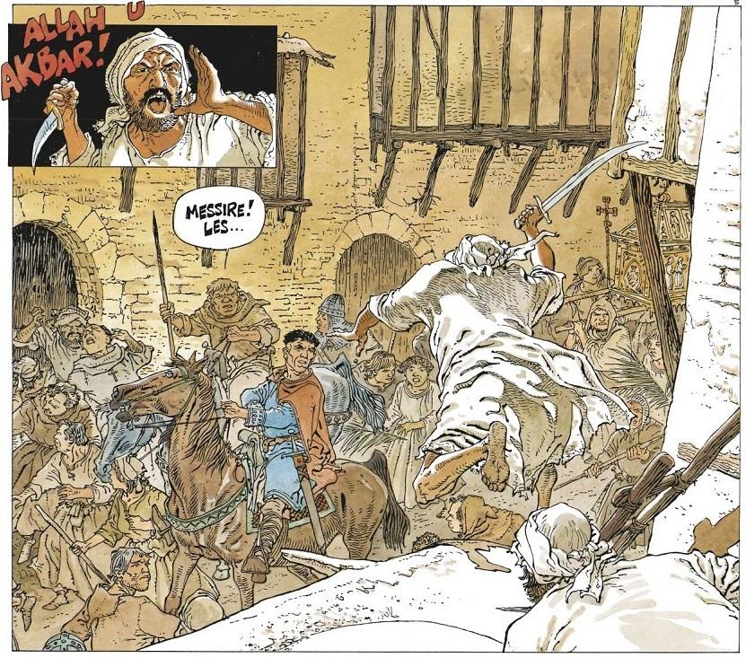 Guérilla près de Jérusalem au début du XIIe siècle
