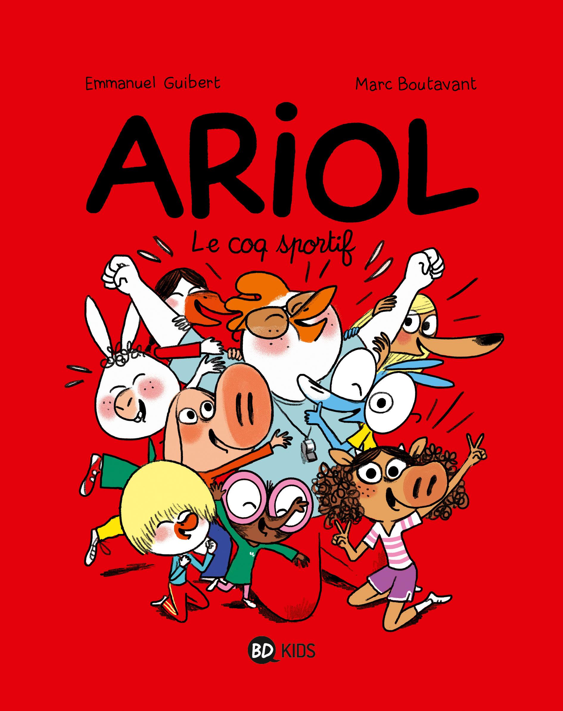 couverture Ariol12
